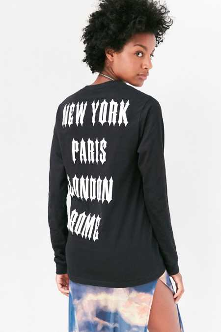 Major Cities Long-Sleeve Tee