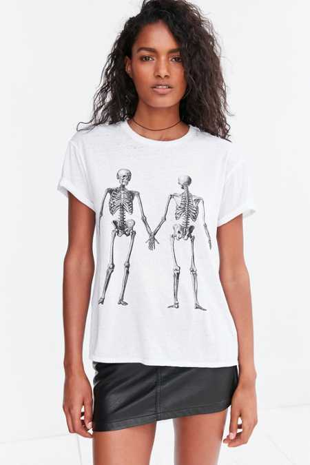 Mouchette Double Take Skeleton Tee