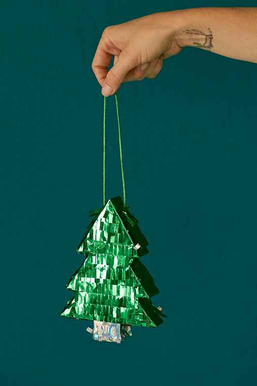 Mini Tree Pinata,GREEN,ONE SIZE