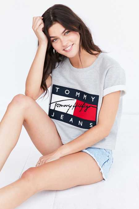 Tommy Jeans For UO Short-Sleeve Sweatshirt