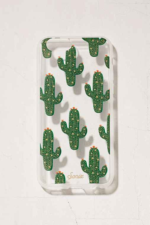Sonix Cactus With Stars iPhone 6/6s Case,BLACK,ONE SIZE