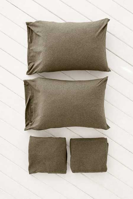Heathered Jersey Sheet Set
