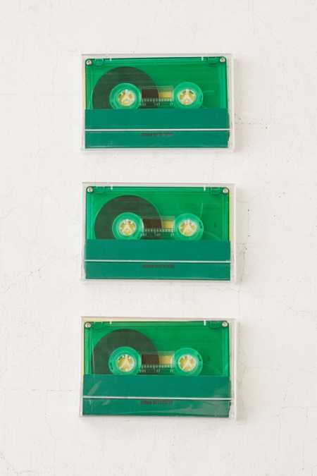 3-Pack Blank Cassette Tapes