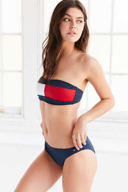 Tommy Jeans For UO '90s Bandeau Bikini Set