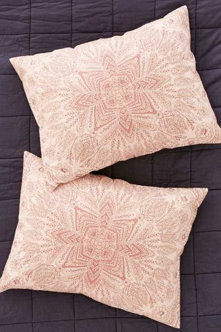 Reya Medallion Sham Set