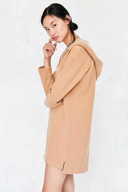 BDG Hooded Sweatshirt Mini Dress
