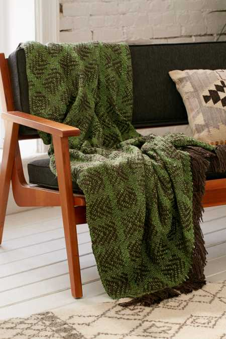 Tech Geo Woven Throw Blanket