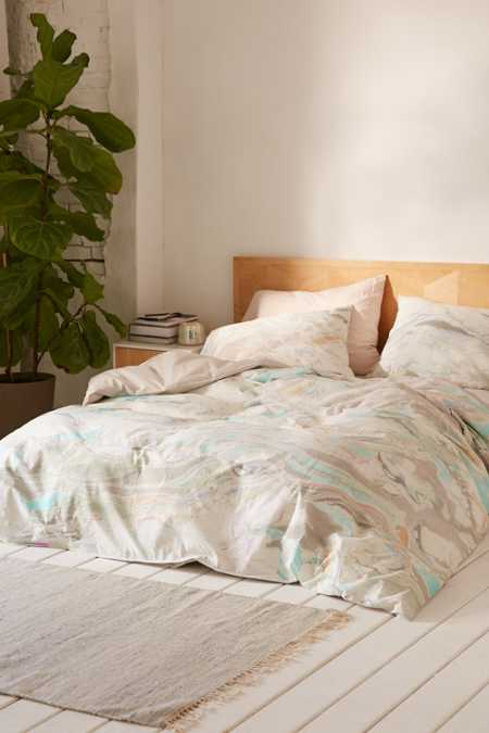 Mixed Marble Duvet Cover