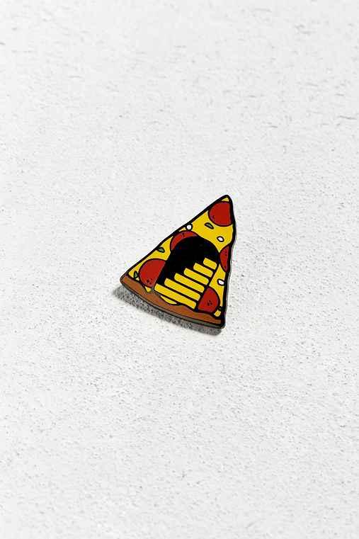 Tough Times Pizza Portal Pin,YELLOW,ONE SIZE