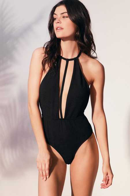 Motel X UO Laguna T-Front One-Piece Swimsuit