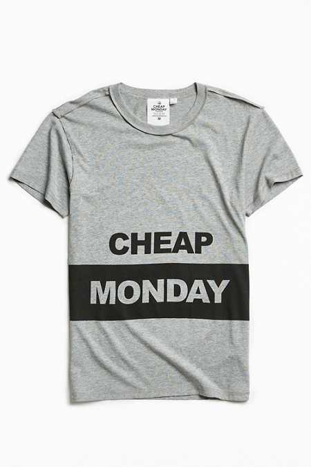 Cheap Monday Standard Block Logo Tee