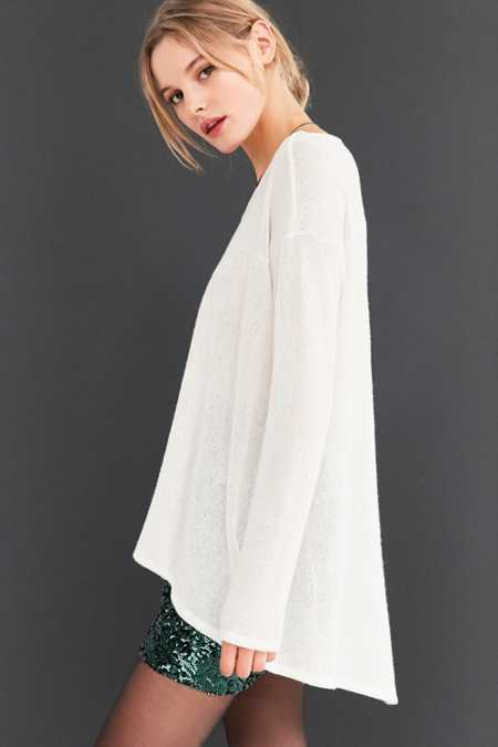 Kimchi Blue Blaire High/Low Tunic Sweater