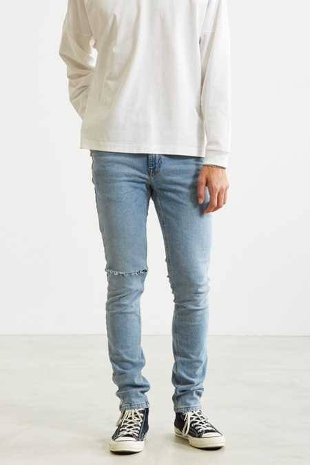 BDG Destructed Light Stonewash Skinny Jean