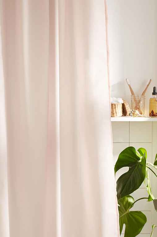 Solid Shower Curtain Liner,PINK,72X72