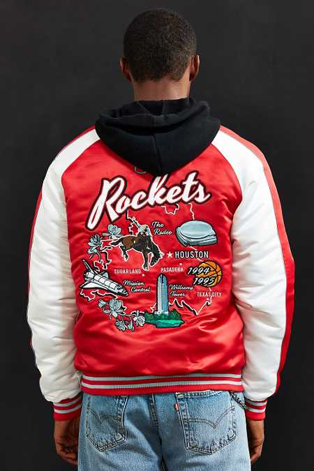 Starter X UO NBA Houston Rockets Souvenir Jacket