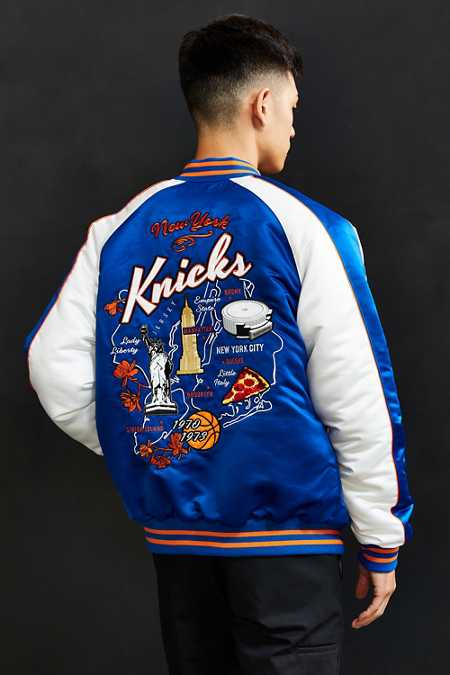 Starter X UO NBA New York Knicks Souvenir Jacket