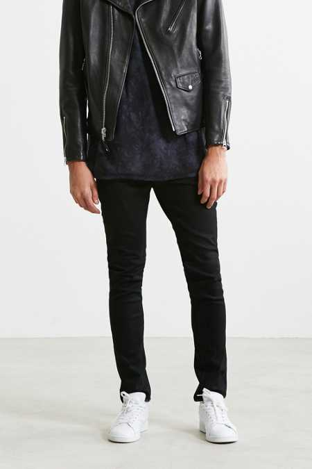Cheap Monday X UO Worn Black Stretch Skinny Jean