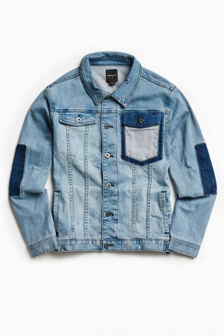 Barney Cools Rourke Denim Trucker Jacket