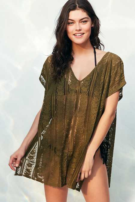 Out From Under Lace Caftan Cover-Up