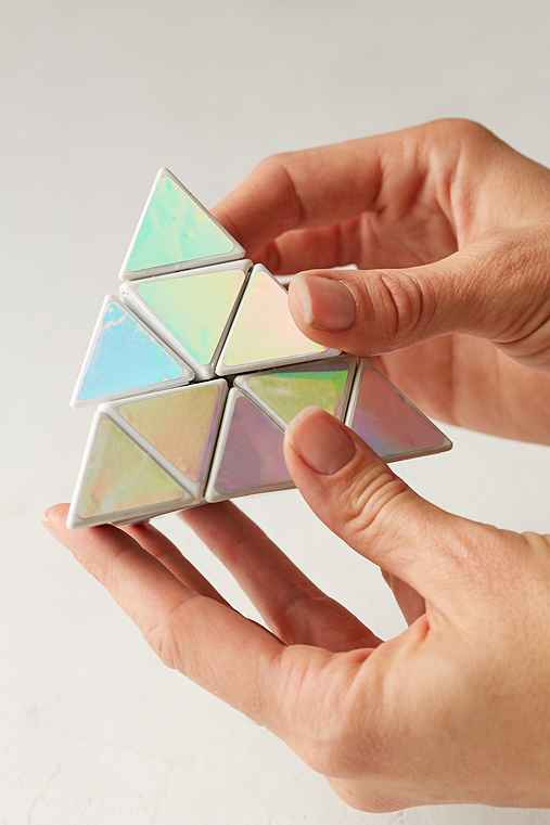 Iridescent Prism Puzzle,MULTI,ONE SIZE