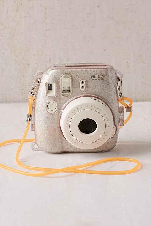 Fujifilm Instax Mini 8 Metallic Silver Hard-Shell Camera Case,SILVER,ONE SIZE