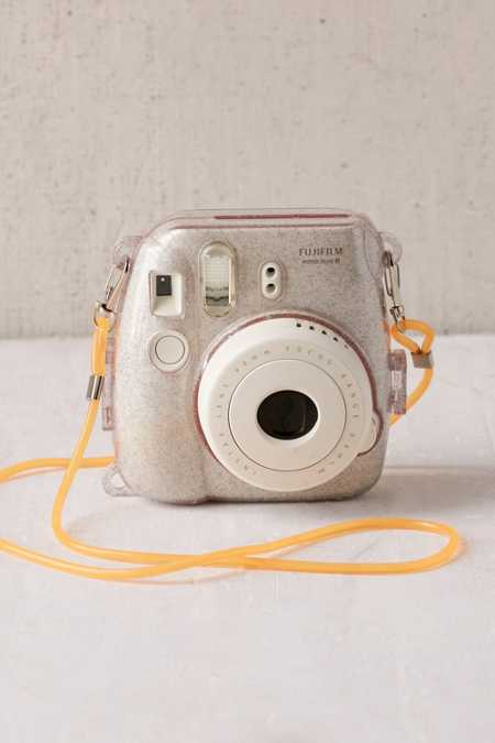 Fujifilm Instax Mini 8 Metallic Silver Hard-Shell Camera Case