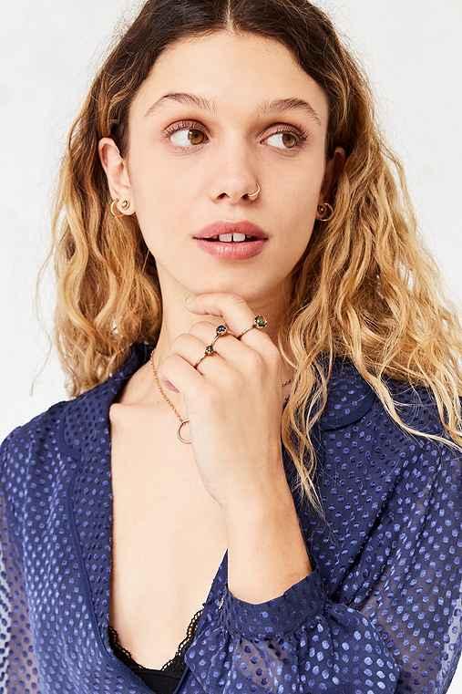 Gemstone Ring Pack,GOLD,M/L