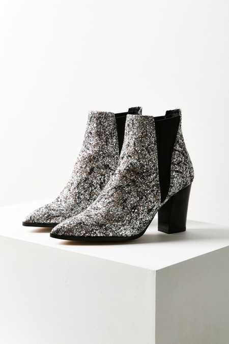 Intentionally Blank Glitter Chelsea Boot