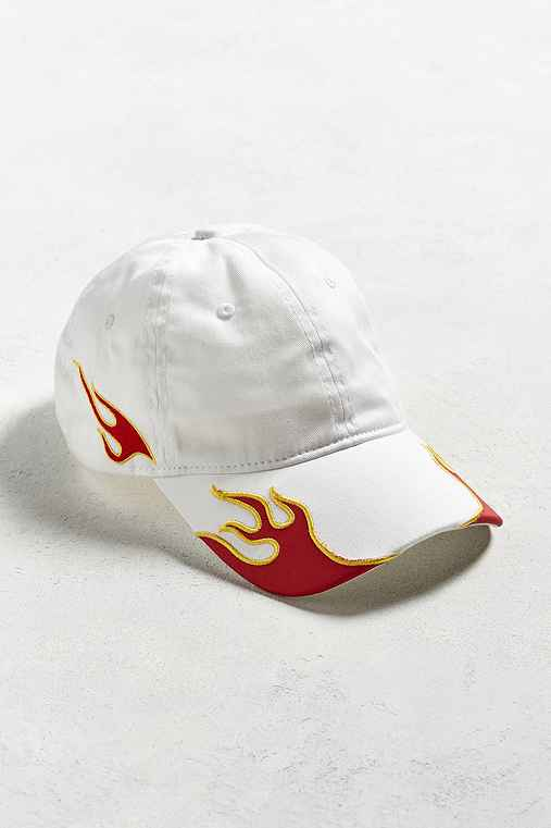 Flamez Embroidered Hat,WHITE,ONE SIZE