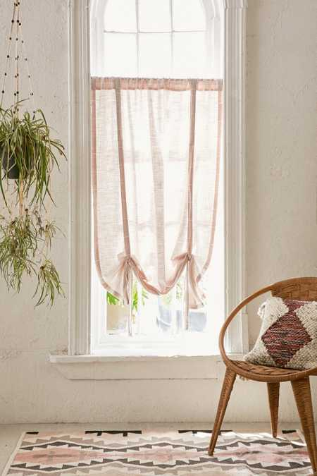 Rowan Nikko Draped Shade Curtain