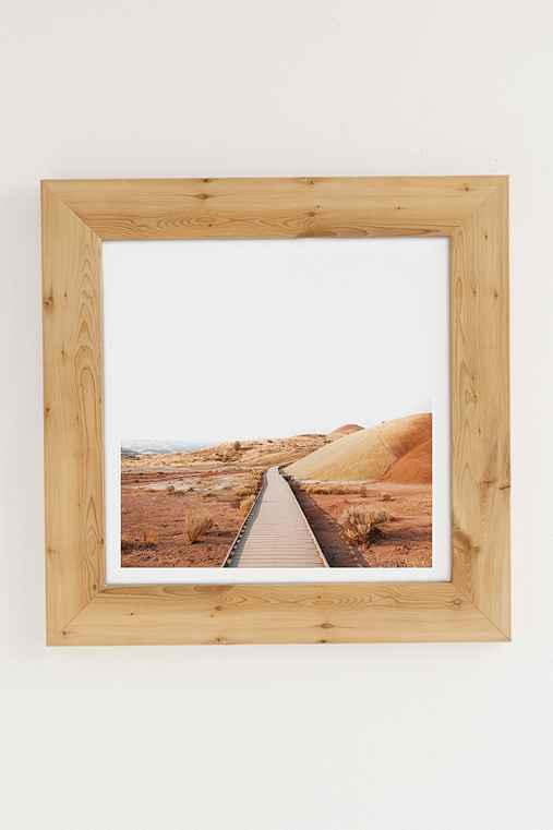 Rodrigo Trevino Painted Hills II Art Print,PINE FRAME,44X44