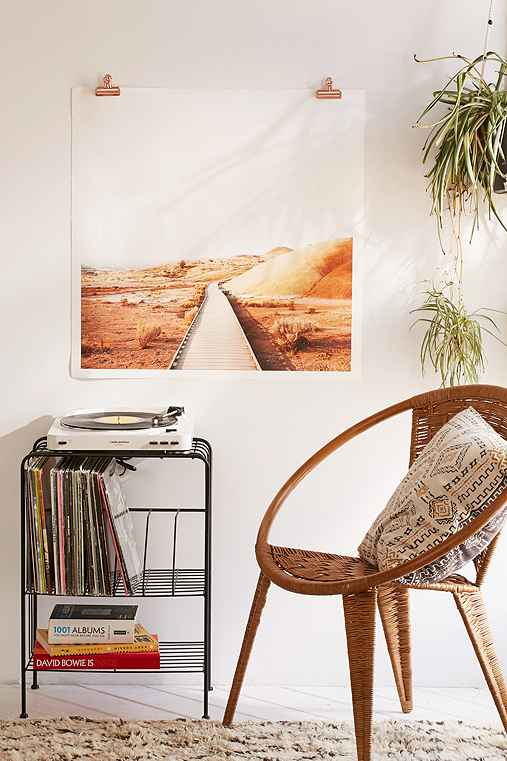 Rodrigo Trevino Painted Hills II Art Print,NO FRAME,30X30