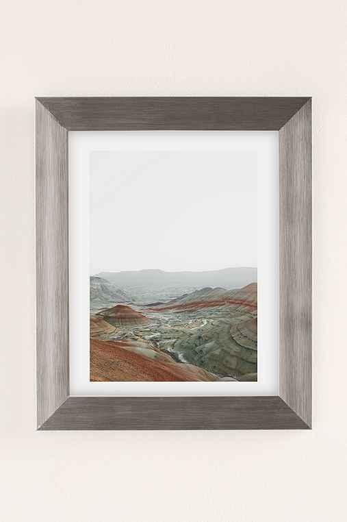 Rodrigo Trevino Painted Hills I Art Print,SILVER MATTE FRAME,8X10