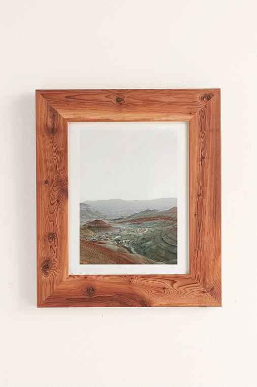 Rodrigo Trevino Painted Hills I Art Print,CEDAR FRAME,40X60
