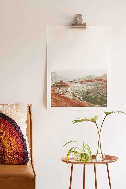 Rodrigo Trevino Painted Hills I Art Print,NO FRAME,40X60
