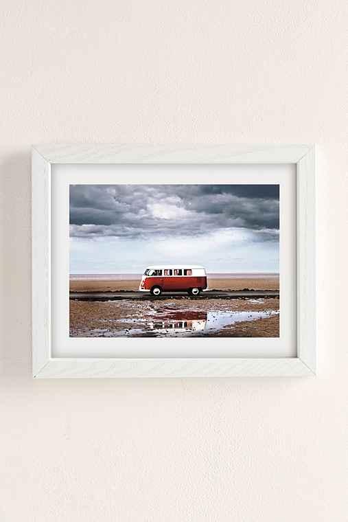 Dean Martindale Tide Away Art Print,WHITE WOOD FRAME,8X10