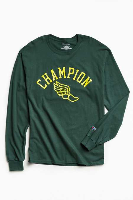 Champion Winged Foot Long-Sleeve Tee