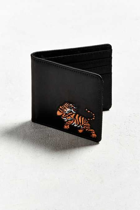 UO Embroidered Bi-Fold Wallet