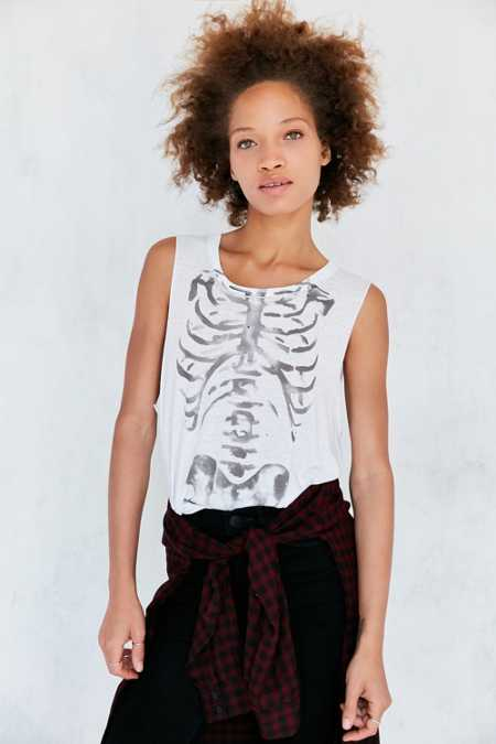 Future State Painted Rib Cage Muscle Tee