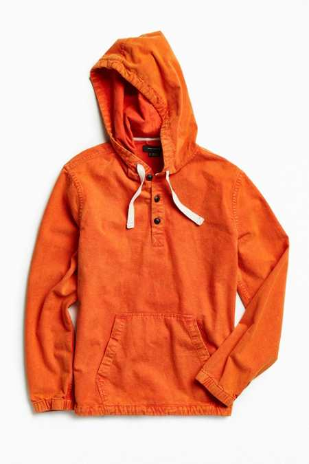UO Chamois Hooded Pullover Shirt