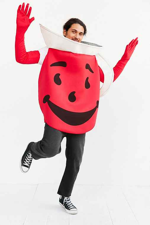 Kool-Aid Man Costume,RED,ONE SIZE
