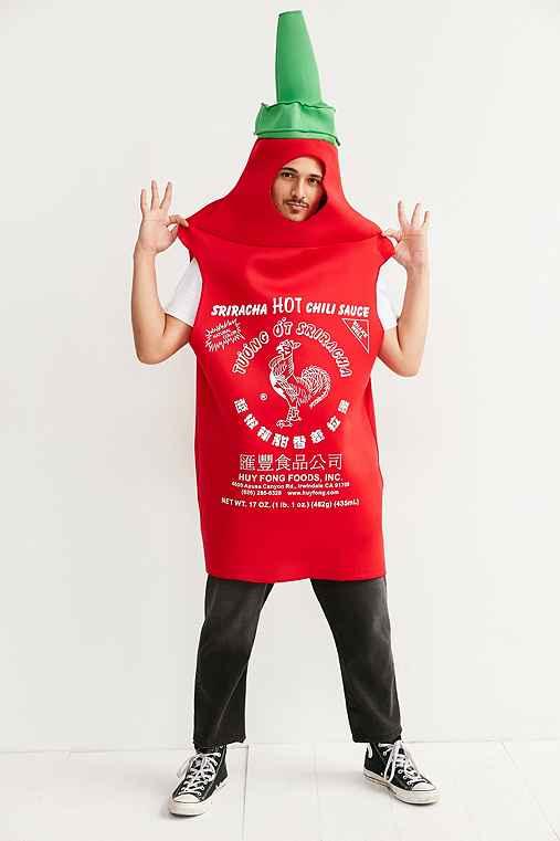 Sriracha Costume,RED,ONE SIZE