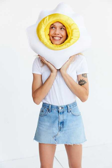 Egg Face Costume