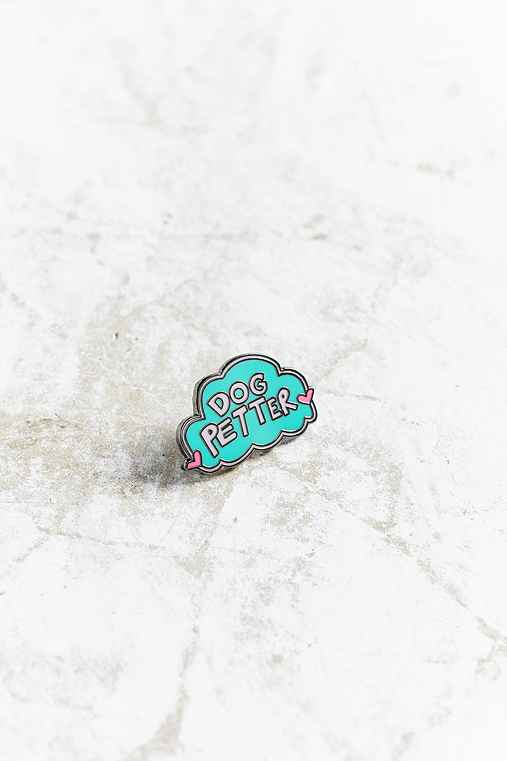 Annie Free X UO Dog Petter Pin,BLUE,ONE SIZE
