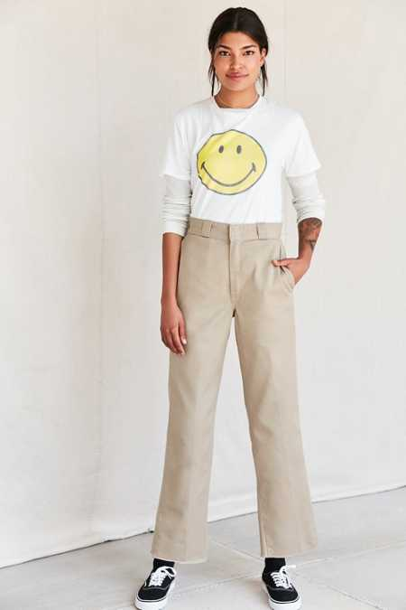 Urban Renewal Recycled Dickies 90s Cropped Pant