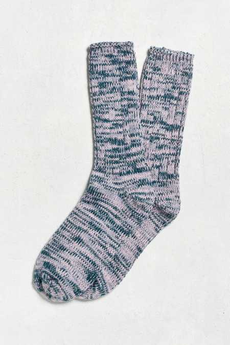 Chunky Twisted Marled Boot Sock