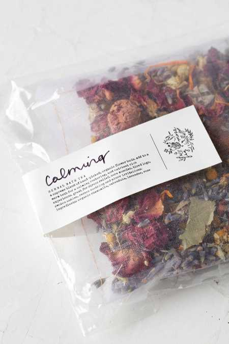 Fig + Moss Calming Herbal Bath Tea