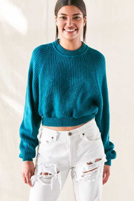 Urban Renewal Remade Dolman Cropped Sweater