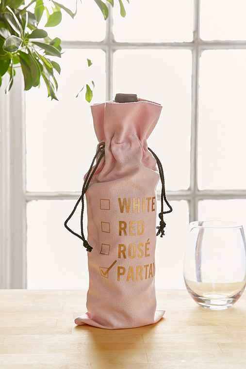 Holiday Wine Bag,PINK,ONE SIZE