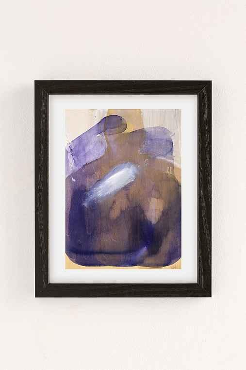Nell Bernegger Moving Past The Feeling Art Print,BLACK WOOD FRAME,8X10